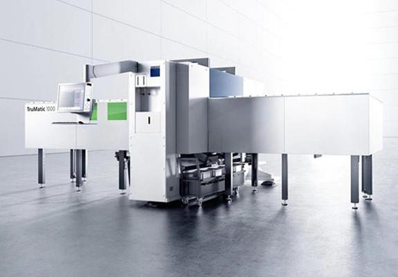 パンチレーザ複合機TruMatic 1000 fiber